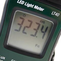 Luxímetro p/ LED branco 400.000 Lux Extech LT-40