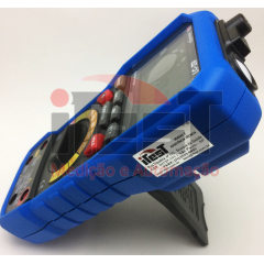 Multímetro 5x1 - Mult-Decib-Temp-Umid-Lux Minipa EZ-51