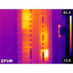 Câmera Térmica 76.800 pixels c/ MSX e WIFI (–20°C +250°C ) - Flir - E-8 WIFI