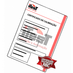 Certificado de Calibração para Refratômetro (BRIX)
