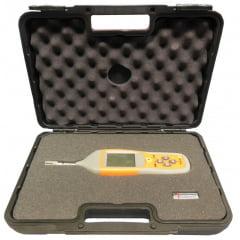 Termo-Higrômetro/ Psicrômetro (Bulbo Úmido/Pto Orvalho) - PY-5080