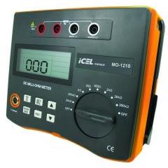 Miliohmímetro CAT III (0,01m a 200KΩ) - 250 mA - MO-1210