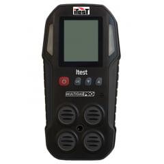 Detector/Med 4 Gases (CH4/H2S/CO/O2)/Oxi-Explosímetro - Multigas-Pro
