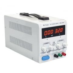 Fonte de Alimentação DC Assimétrica (30V/5A-simples) - Minipa - MPS-3005A