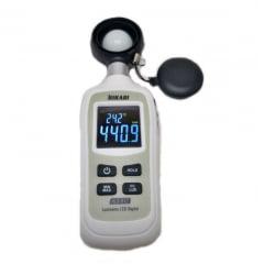 Mini Luxímetro p/ LED Branco e Fluorescente 200.000 Lux - Hikari - HLX-912