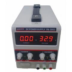 Fonte de Alimentação DC Assimétrica (30V/3A-simples) - FA-3003