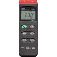 Termômetro (2x Canais) - TD-990