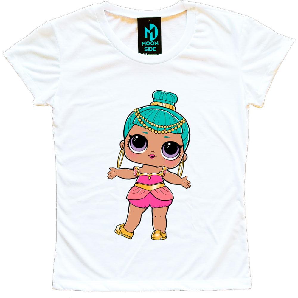 Camiseta Boneca Lol Surprise Genie - Adulto
