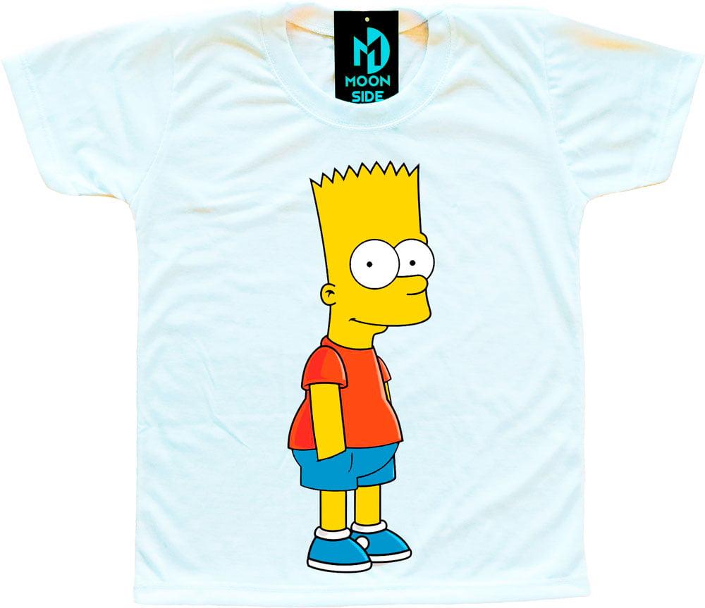 c12580c67 Camiseta Infantil Os Simpson s Bart Simpson - Moon Side Store