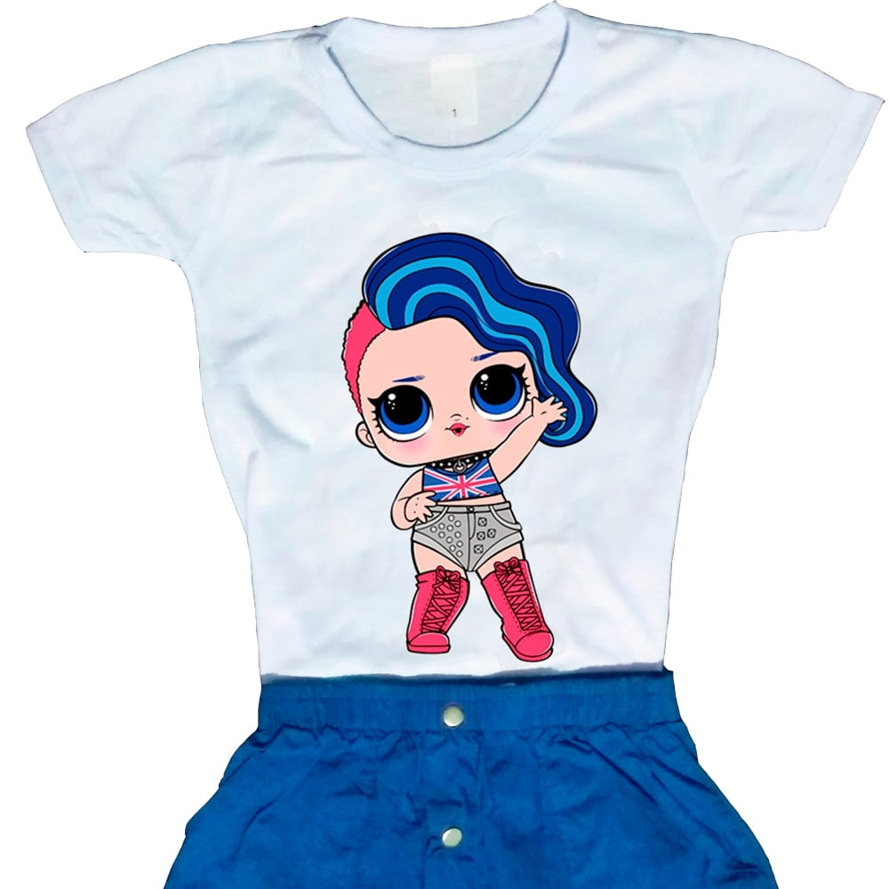 Camiseta Boneca Lol Surprise Cheeky Babe