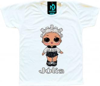 Camiseta Boneca Lol Surprise Fresh - Série Glitter - Personalizada