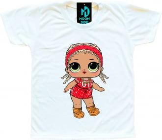 Camiseta Boneca Lol Surprise M.C. SWAG - Série Glitter