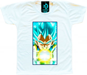 Camiseta Dragon Ball Super Vegeta Ssj Blue