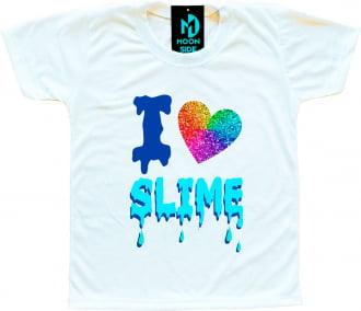 Camiseta I Love Slime (Eu amo Slime) - Modelo 2