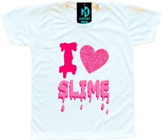 Camiseta I Love Slime (Eu amo Slime) - Modelo 3