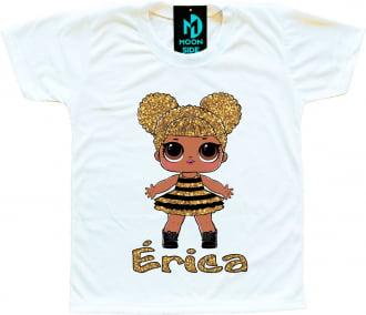Kit 4 Camisetas LOL Surprise Personalizadas - Envie o nome pelo WhatsApp