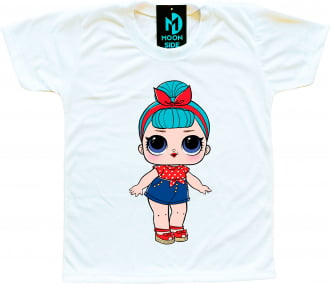 Camiseta Boneca Lol Surprise B.B. Bop