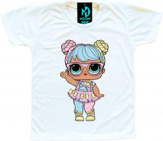 Camiseta Boneca Lol Surprise Bon Bon