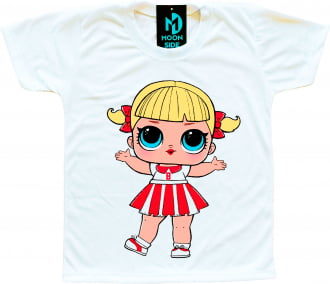 Camiseta Boneca Lol Surprise Cheer Captain