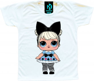 Camiseta Boneca Lol Surprise Curious Q.T.