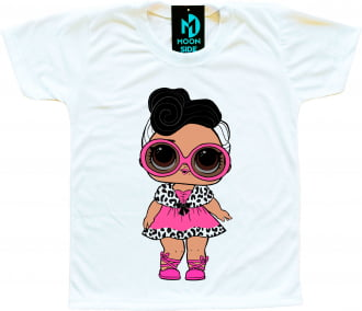 Camiseta Boneca Lol Surprise Dollface