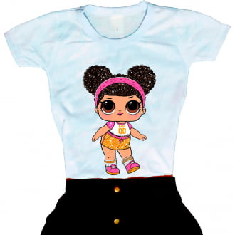 Camiseta Boneca Lol Surprise Hoops
