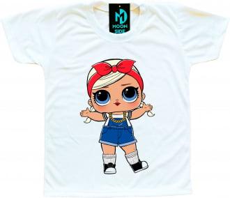 Camiseta Boneca Lol Surprise Shorty