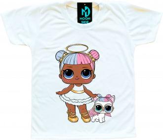 Camiseta Lol Surprise Sugar e Pet Sugar Pup
