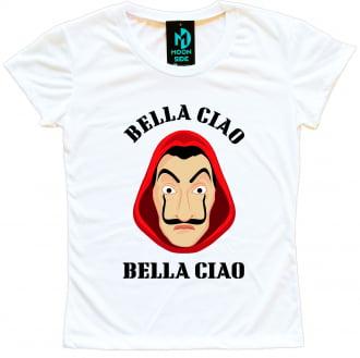 Camiseta La Casa De Papel Bella Ciao Máscara Dali