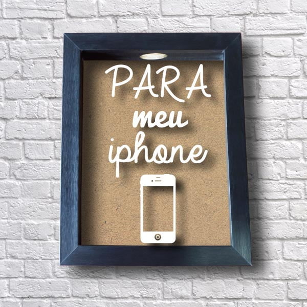 Quadro Cofre para meu Iphone
