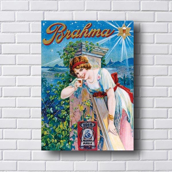 Quadro Vintage Brahma 1918