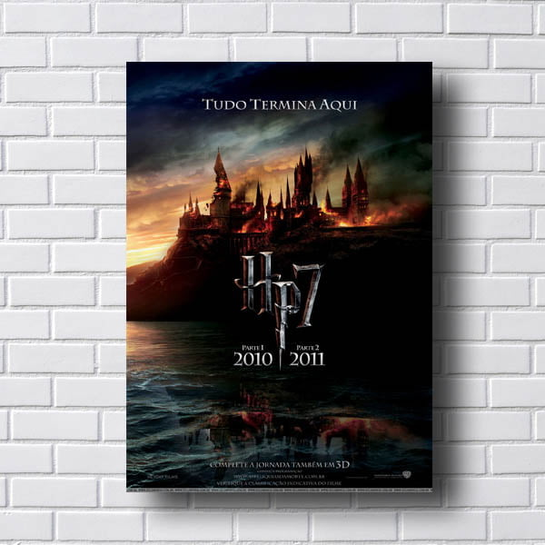 Quadro Harry Potter 7