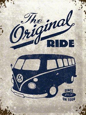 Placa Decorativa Vintage Carros Original Ride Kombi PDV181
