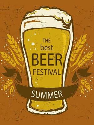 Placa Decorativa Retro Cerveja Beer Festival PDV017