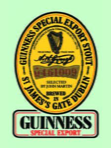 Placas Decorativas Cerveja Guinness Special Export PDV318