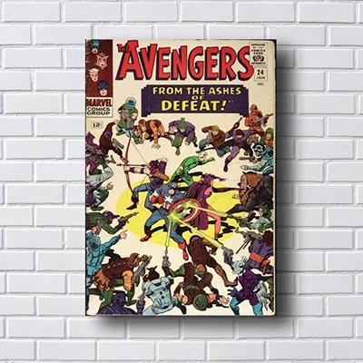 Quadro Decorativo Avengers