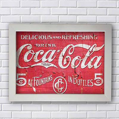 Quadro Coca Cola Retro
