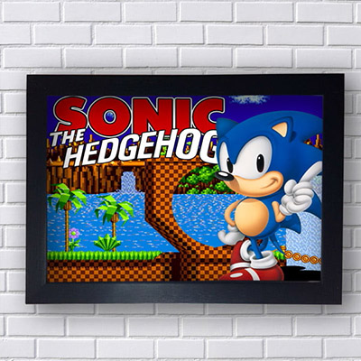 Quadro Sonic The Hedgehog