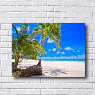Quadro Decorativo Praia