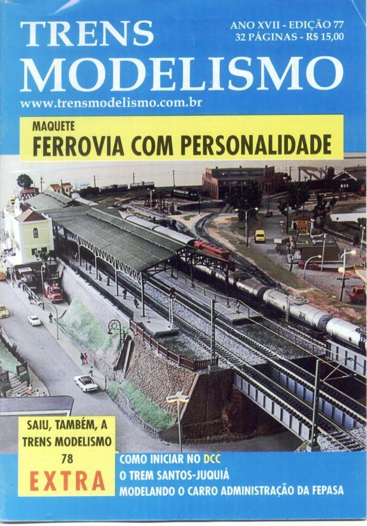 Trens e Modelismo # 77