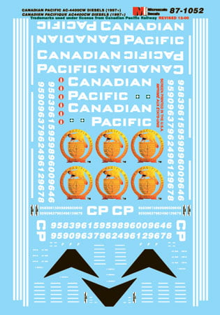 Decal Canadian Pacific