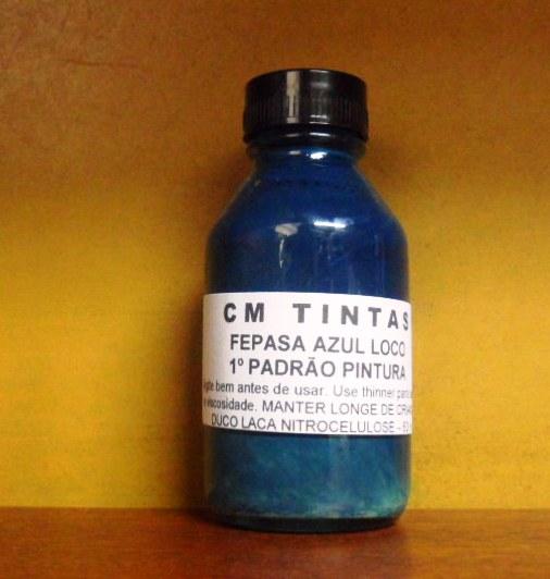 Fepasa Azul Locomotiva