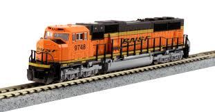 Locomotiva SD70MAC BNSF