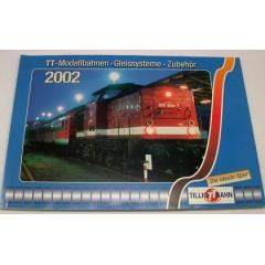Catálogo Tillig Bahn 2002