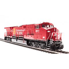 Locomotiva AC6000 Som, DCC e Fumaça