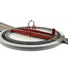 Virador de locomotiva com controle elétrico