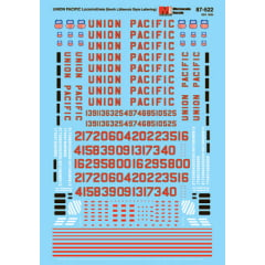 Decal Union Pacific Diesels