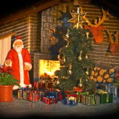 Árvore e Presentes de Natal