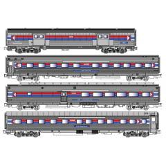 Conjunto de Carros de Passageiro Amtrak Fase I