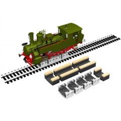 Roletes para Teste e Limpeza de Locomotivas